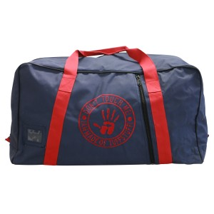 Heavy Duty Canvas Gear Bag Navy/Red