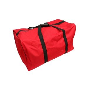 Heavy Duty Ballistic Nylon Gear Bag 75cmx38cmx40cm Red