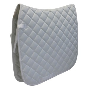Dressage Saddle Pad White