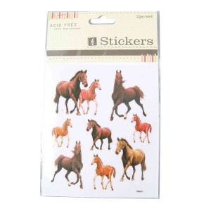 Trotting Horse Stickers