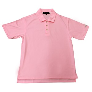 Snowbee Mens Polo Shirt - Pink