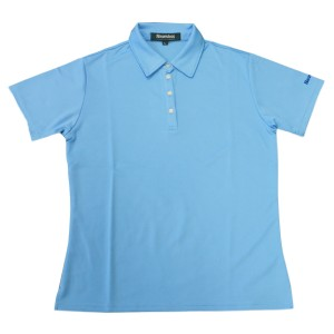 Snowbee Ladies Polo Shirt - Baby Blue