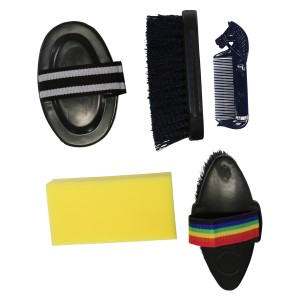 Happy Horse Grooming Kit Adults Navy