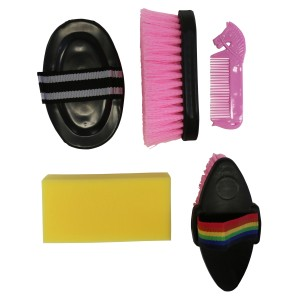 Happy Horse Grooming Kit Adults Pink