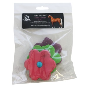 Happy Horse Training Treats Flower Shape Cookies - 3 Pack