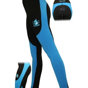 Happy Horse Lycra Stretch Breeches - Black/Turquoise