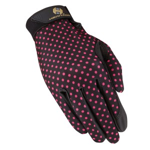 Heritage Performance Gloves - Polka Dots