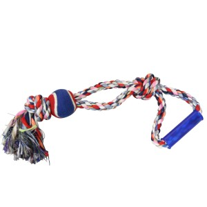 Happy Hound Cotton Rope w/Ball Tug 550mm