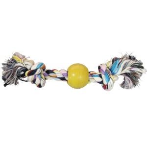 Happy Hound Dog Chew Rope & Ball