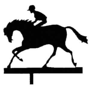 Racehorse Weather Vane