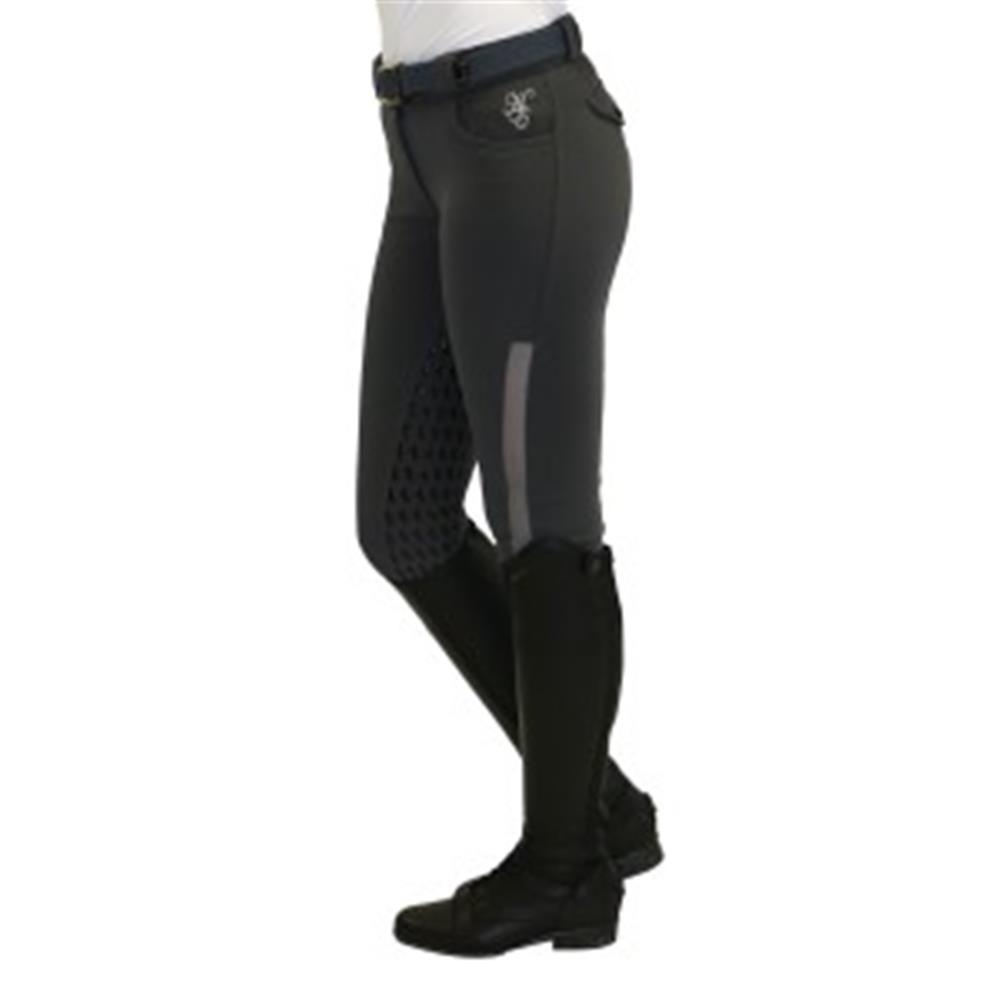 Huntington Performance Mandy Gel Breeches Stone Horse