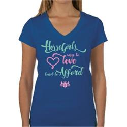 Huntington Vee Neck T-Shirt - Hard to Afford