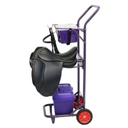 Stable & Grooming Trolley - Purple