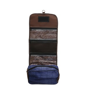 Fort Worth Roll Up Accessory Bag Denim