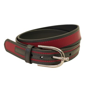 Giddyup Lickety Split Belt - Grey/Pink