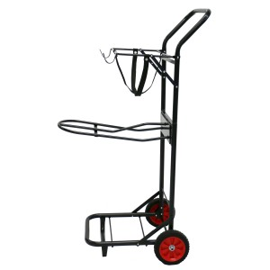 Stable & Grooming Trolley - Black