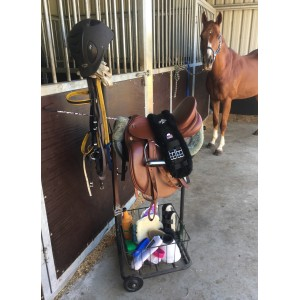 All In One Saddlery Cart at the Stables